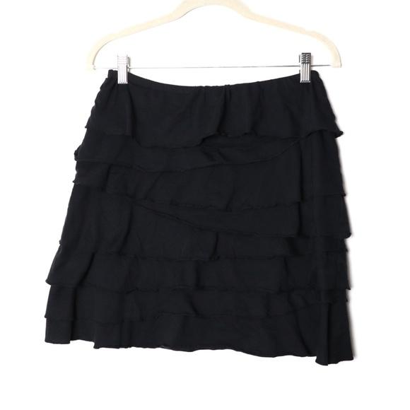 Garnet Hill Dresses & Skirts - Garnet Hill   Soft Ruffle Tier Skirt